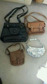 Handbags x 3.
