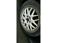 Genuine BBS VW Golf ANNIVERSARY MK3 16V WHITE alloy wheels audi seat skoda golf bora Leon hh