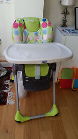 Chicco baby/toddler high chair in good condition