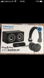Brand new boxed Intempo 3 in 1 Blaster Set.