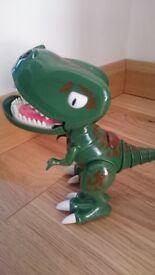 Zoomer Chomplingz Interactive Dinosaur, green