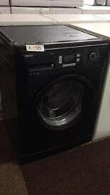 BEKO 9KG BLACK WASHER WITH 1600 SPIN EXCELLENT CONDITION🌎🌎