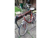 Vintage Universal folding bike