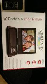 Brand new 9 inc dvd hd player and dvd tv freeview car dvd