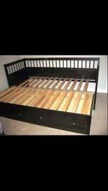 Ikea Hemnes bed single or double