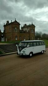 Vw campervan splitscreen 1967 weddings proms