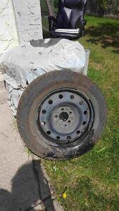 Winter Tires on Steel Rims - Goodyear