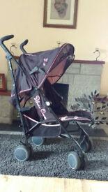 Silver Crosspop Stroller