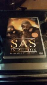 The sas in action presented by a soldier