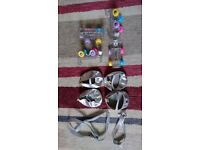 BUILD A BEAR SKATES, SHOES, LEAD AND Collar RRP: £44