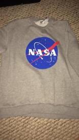 Grey NASA sweatshirt 10