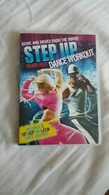 Step up dance workout DVD