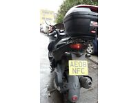 GILERA NEXUS -17K-2008 250CC-FAIRLY CLEAN GOOD ENGINE-HEATED GRIPS SAT-NAV FAST-1 X YR MOT-BIG SPACE