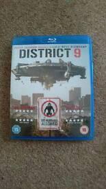 District 9 blu ray dvd