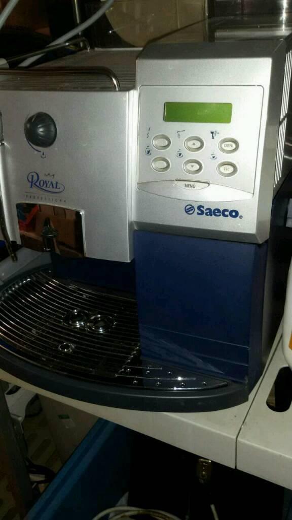 Seaco royal digital coffee machine