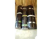 3 rolls roofing felt top coat