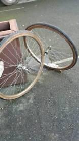 Old wheel set 32-540 (24×1 3/8 )