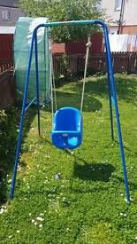 Swing and chute