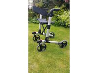 Easy stroller walking aid with seat used once as new