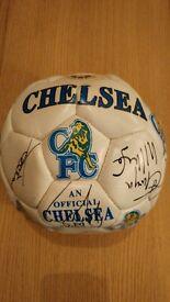 Signed Chelsea Football