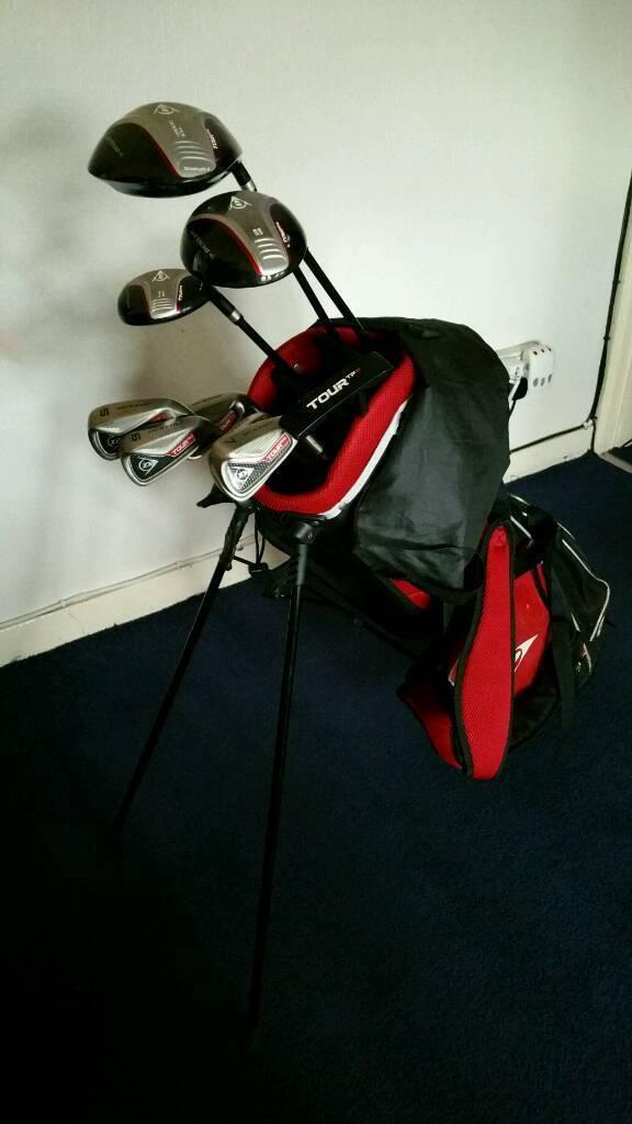 Dunlop TP2 golf clubs.