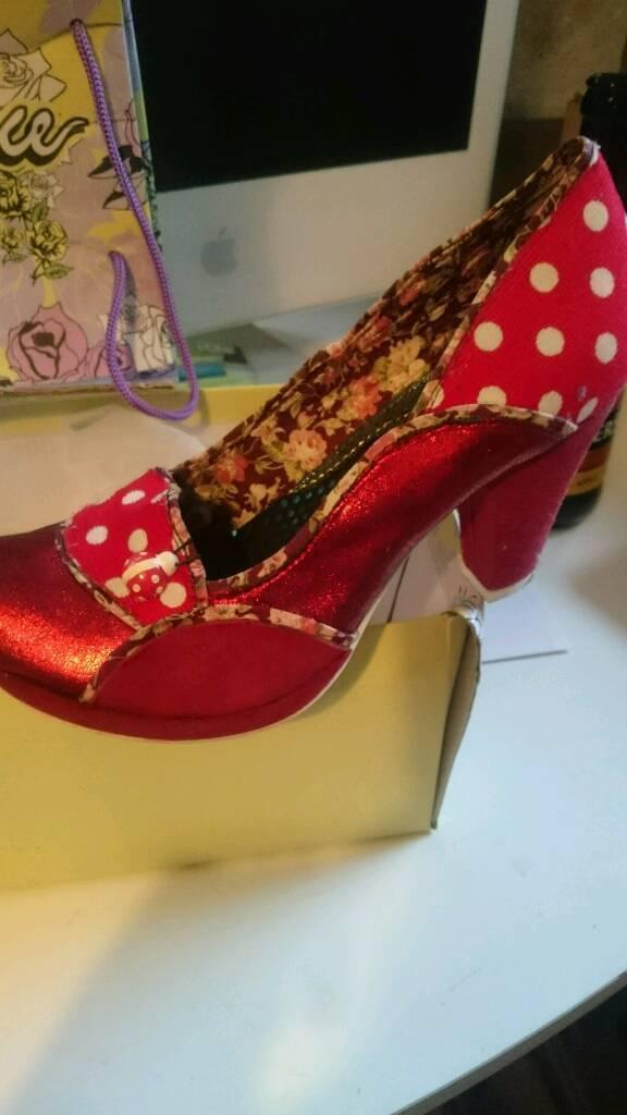 Irregular Choice Ladybug Shoes