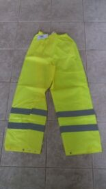 XL High Vis Trousers (new)