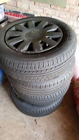 Steel Wheels and Tyres *PIRELLI/CONTINENTAL* 195/65 R 5