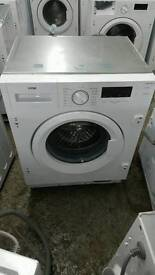Logik LIW814W15 Integrated Washing Machine 8KG New