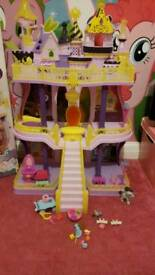 my little pony celestia castle