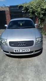 Audi tt 4x4 coupe in silver, 130000 miles full years mot