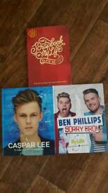 3 youtubers books