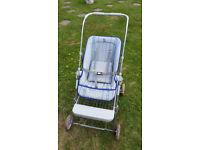 Vintage Silver Cross pushchair