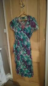 Beautiful silk dress suitable for a summer wedding