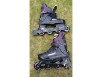 Childs Bauer roller blades for sale. Size 6