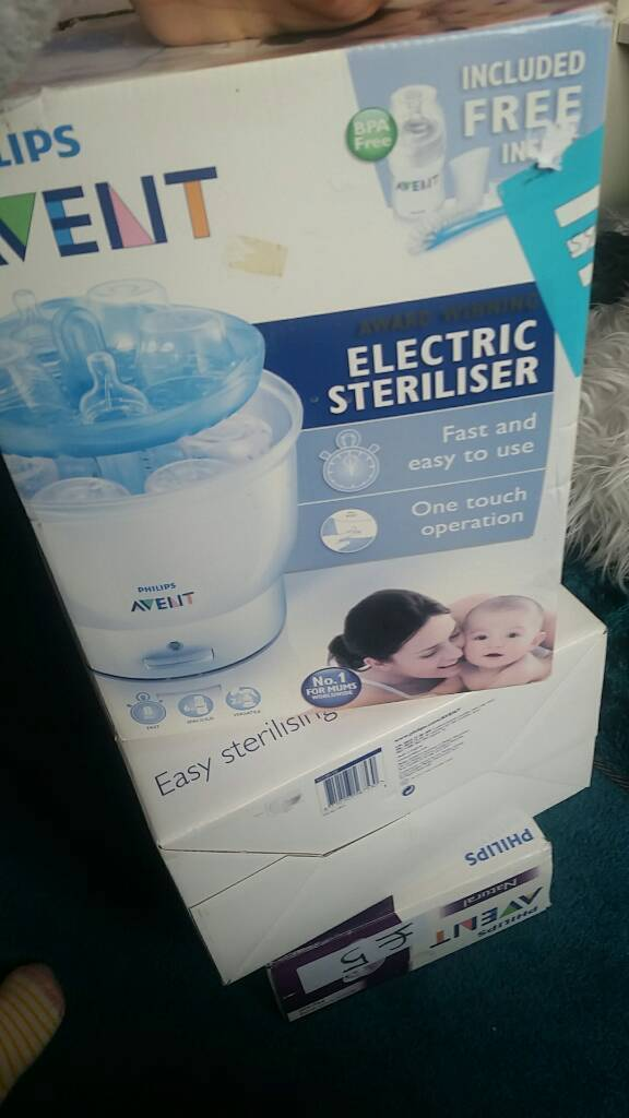 Electric steriliser