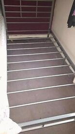 Steel bedframe