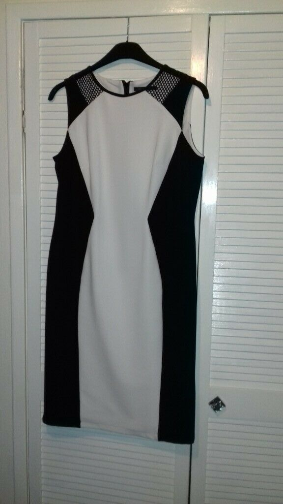 855bf9f88 Ladies Black & White Dress - Size 14 | in Bucksburn, Aberdeen ...