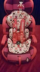 For sale Cossatto Zoomi car seat