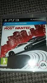 Need For Speed Most Wanted Playstation 3 PS3 PAL Boxed Rare EA Criterion
