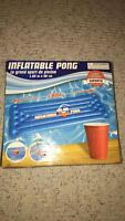 INFLATABLE BEER PONG TABLE!
