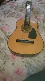 Sky Lark Vintage Children's Guitar.
