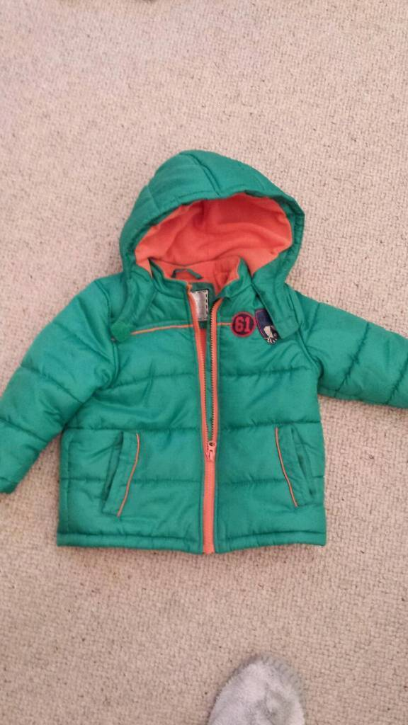 12-18 boys jacket from mothercare