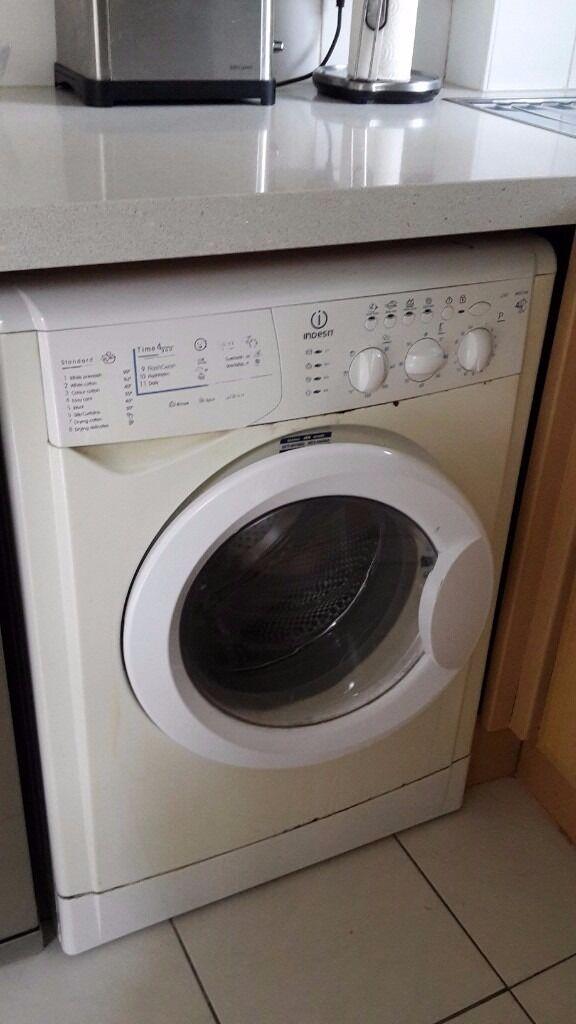 Indesit washing machine installation guide.