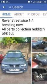 Rover streetwise breaking now