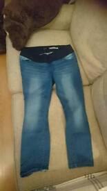 Maternity jeans 14 size