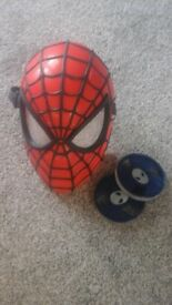 Spiderman vision mask