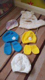 Hats size 12-18 months