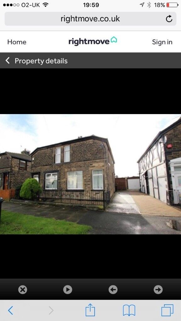 2 Bedroom Semi-Detached Property With Driveway and Field Views - Bradford, Eccleshill