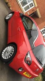 Vauxhall Adam Glam 1.4 2014 plate in red